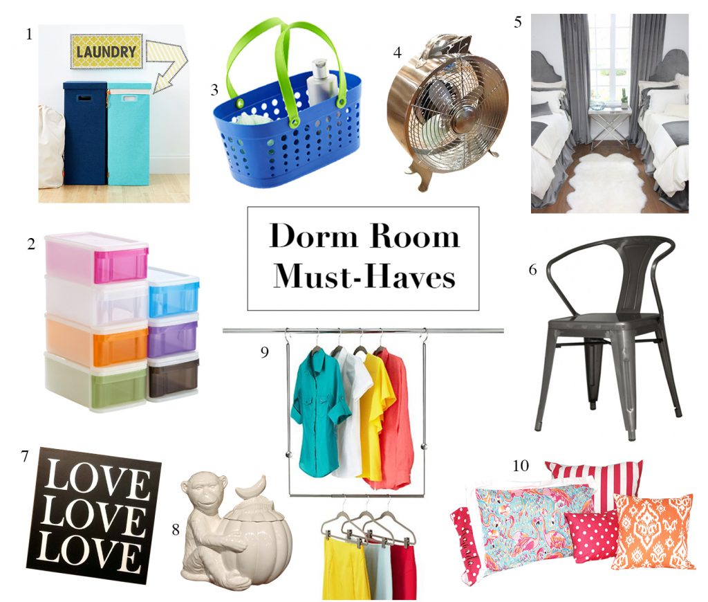 Dorm Room Must-Haves