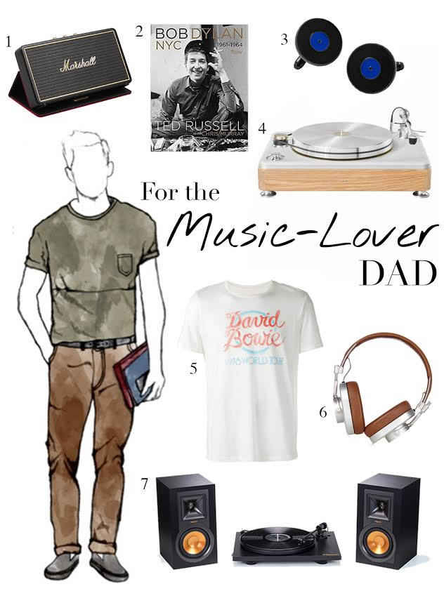 Gifts for Dad - Music Man